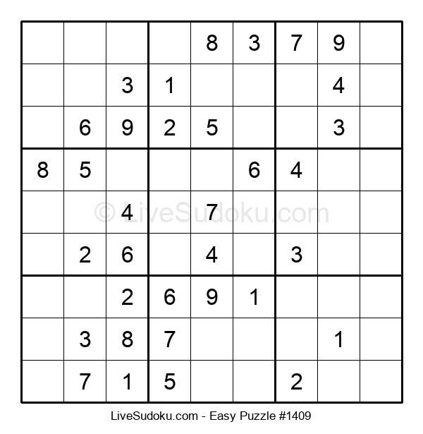 Beginners Puzzle #1409