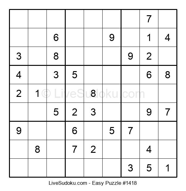 Beginners Puzzle #1418