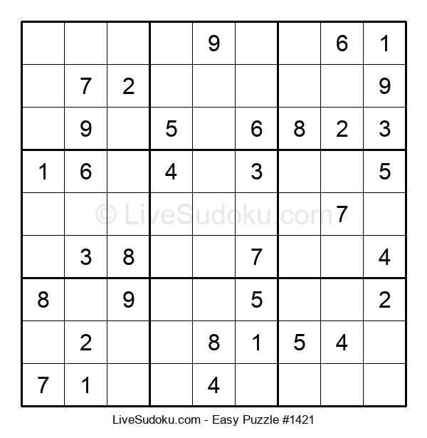 Beginners Puzzle #1421