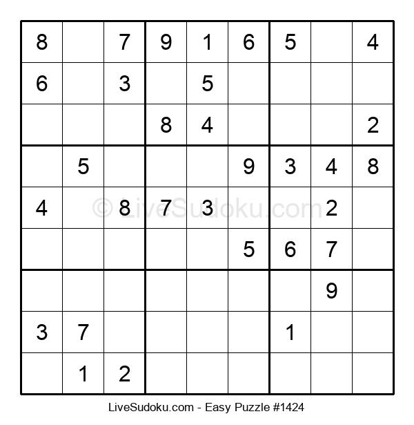 Beginners Puzzle #1424