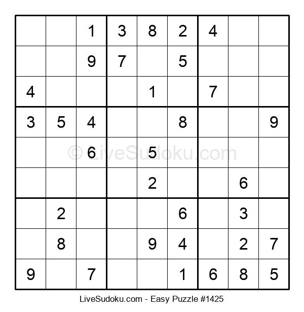Beginners Puzzle #1425