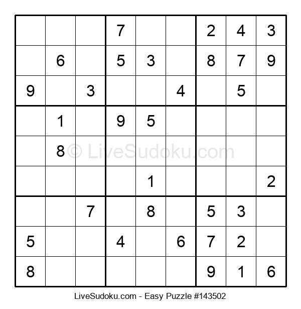 Beginners Puzzle #143502