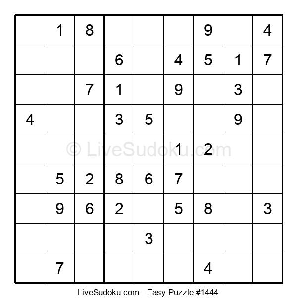 Beginners Puzzle #1444