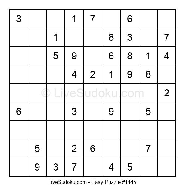 Beginners Puzzle #1445