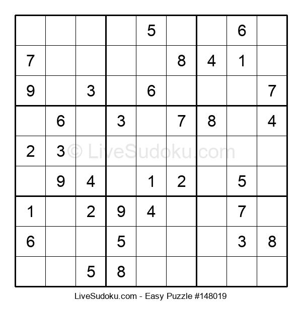 Beginners Puzzle #148019