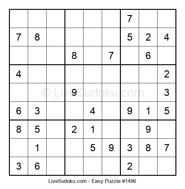Beginners Puzzle #1496