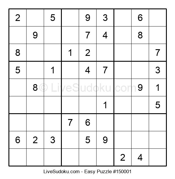 Beginners Puzzle #150001