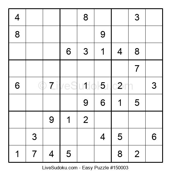 Beginners Puzzle #150003