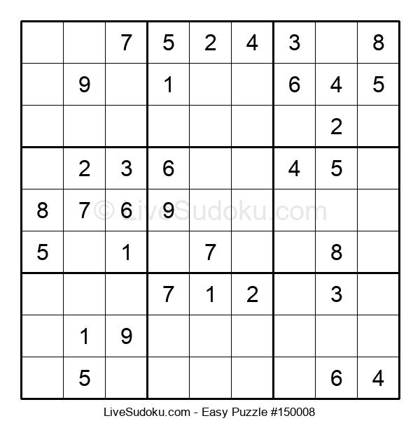Beginners Puzzle #150008