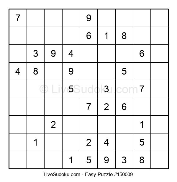 Beginners Puzzle #150009