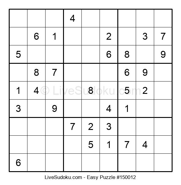 Beginners Puzzle #150012