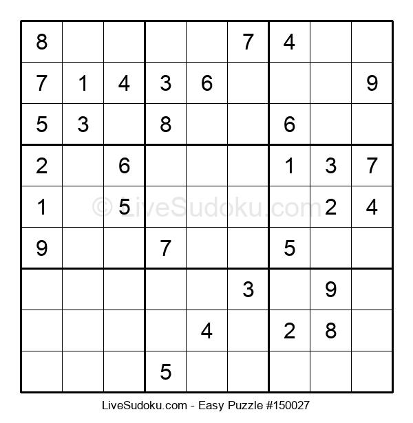 Beginners Puzzle #150027
