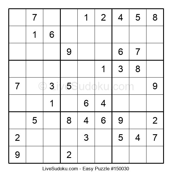 Beginners Puzzle #150030
