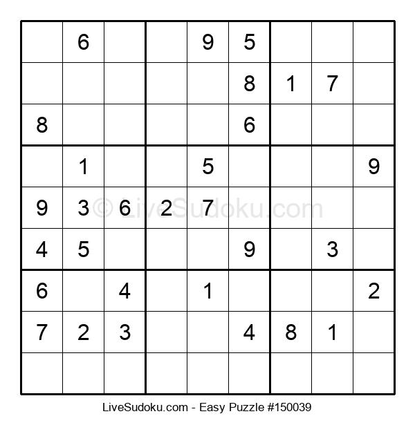 Beginners Puzzle #150039