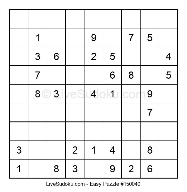 Beginners Puzzle #150040