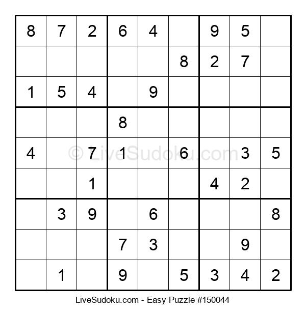 Beginners Puzzle #150044