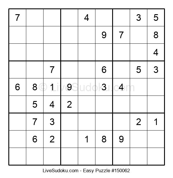 Beginners Puzzle #150062