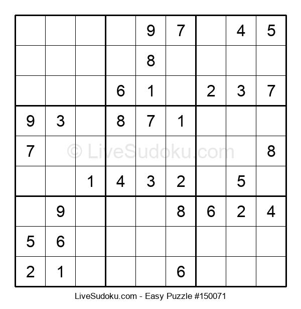 Beginners Puzzle #150071