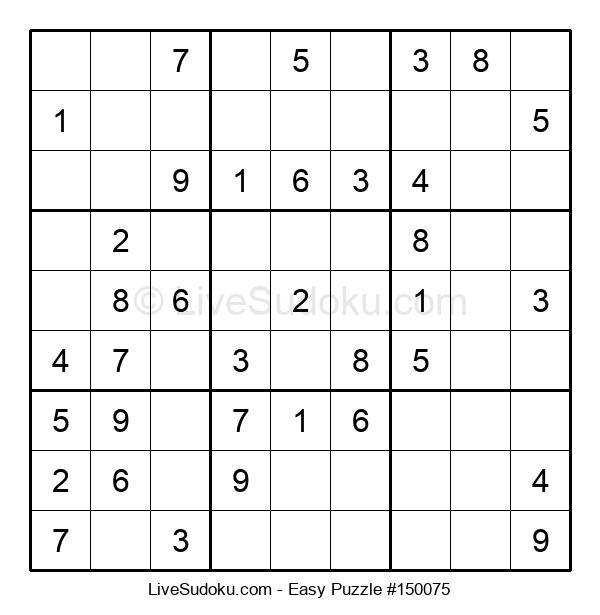Beginners Puzzle #150075