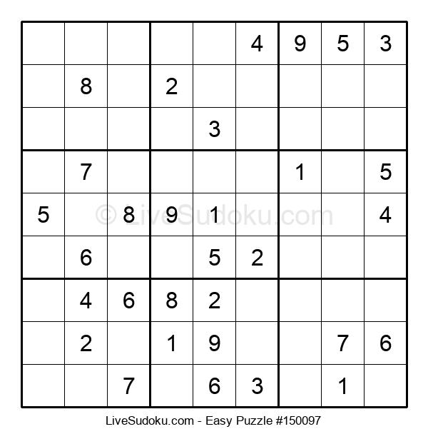 Beginners Puzzle #150097