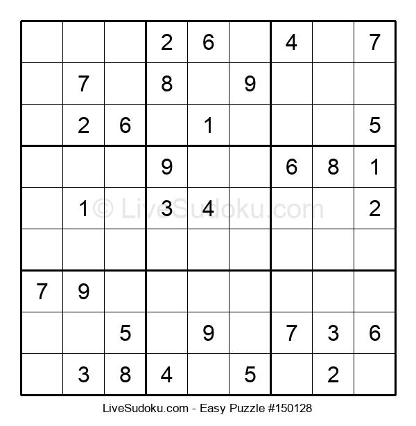 Beginners Puzzle #150128