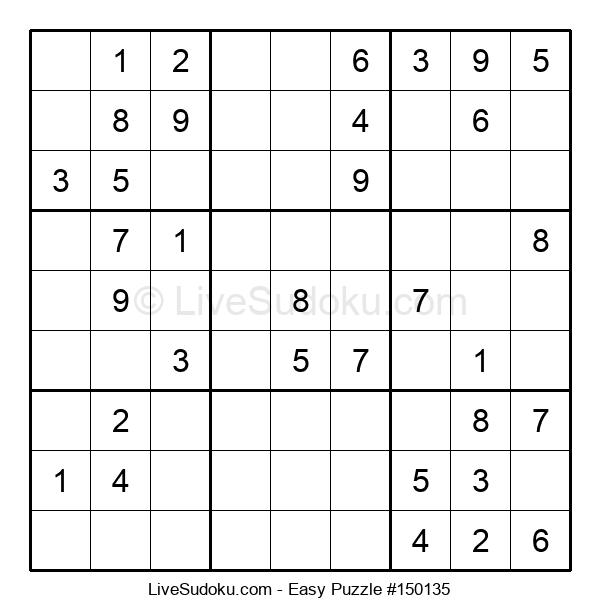 Beginners Puzzle #150135