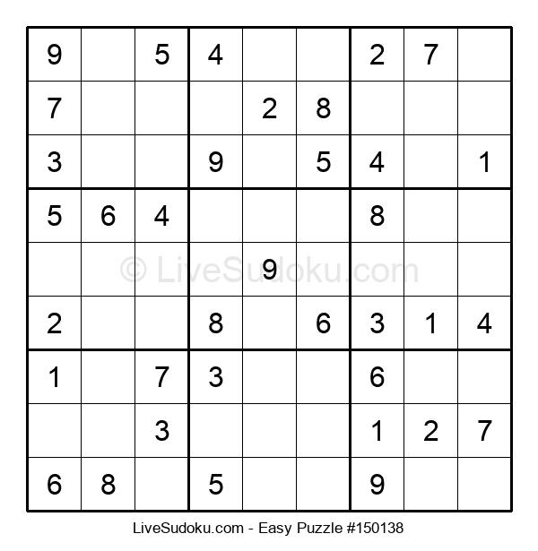 Beginners Puzzle #150138