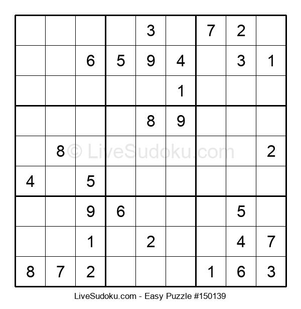 Beginners Puzzle #150139