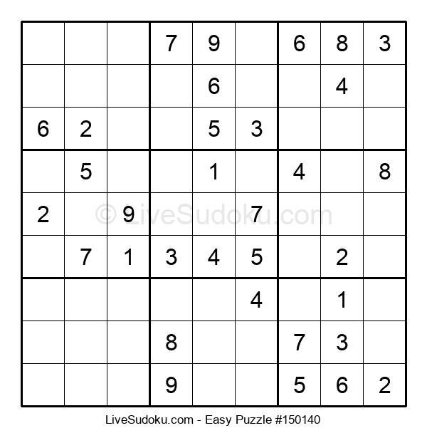 Beginners Puzzle #150140