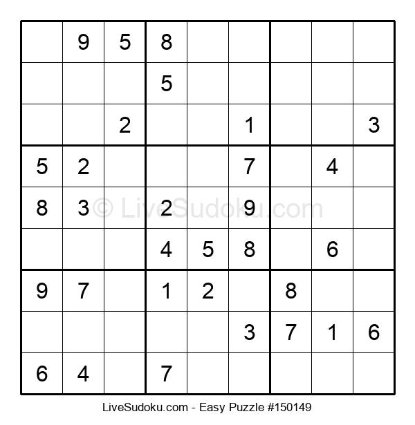 Beginners Puzzle #150149
