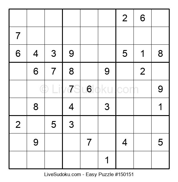 Beginners Puzzle #150151
