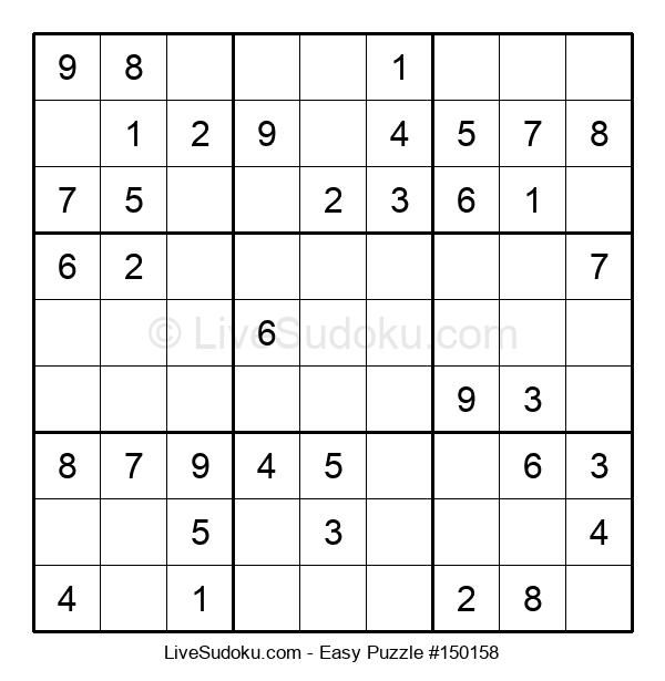Beginners Puzzle #150158