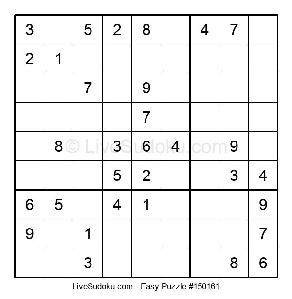Beginners Puzzle #150161