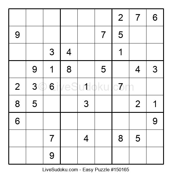 Beginners Puzzle #150165