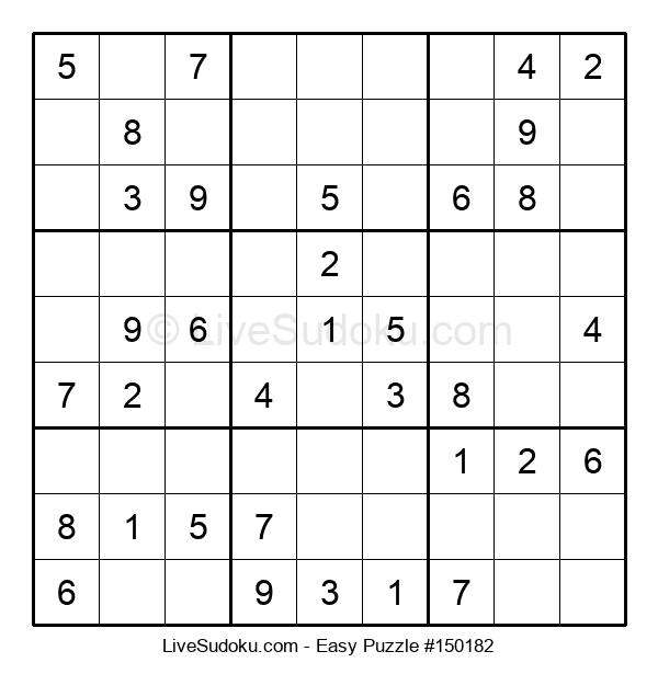 Beginners Puzzle #150182