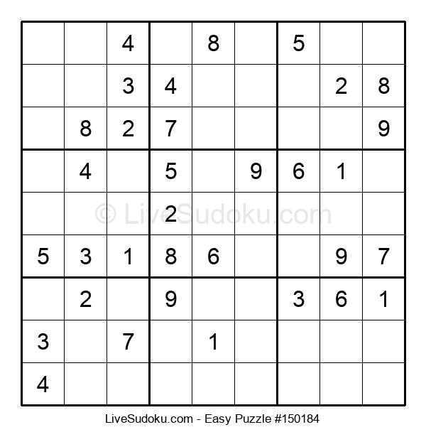 Beginners Puzzle #150184