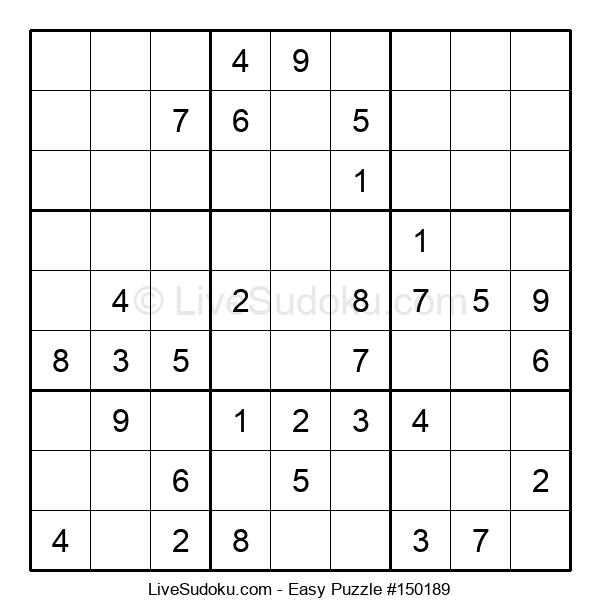 Beginners Puzzle #150189