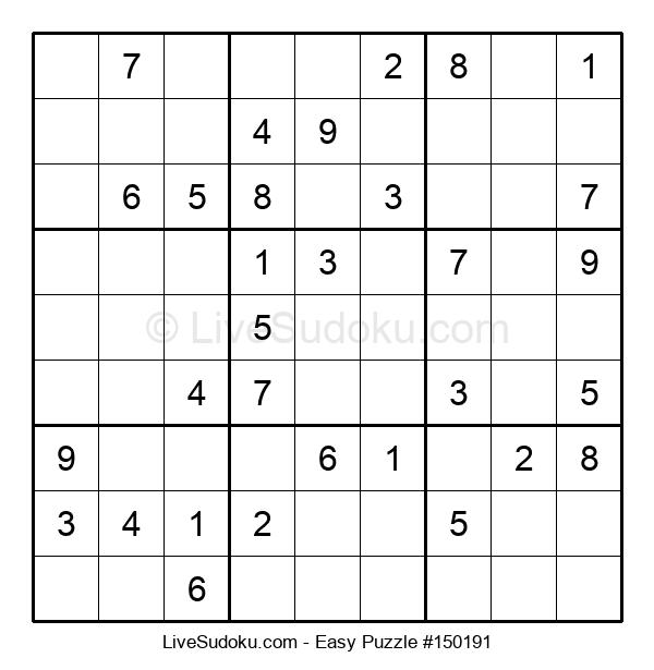 Beginners Puzzle #150191