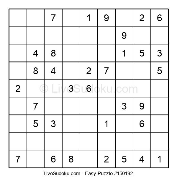 Beginners Puzzle #150192