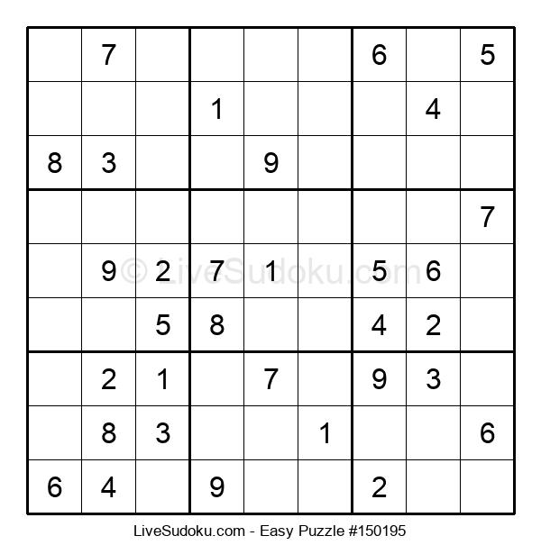 Beginners Puzzle #150195