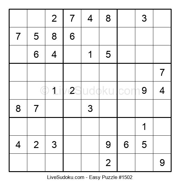 Beginners Puzzle #1502