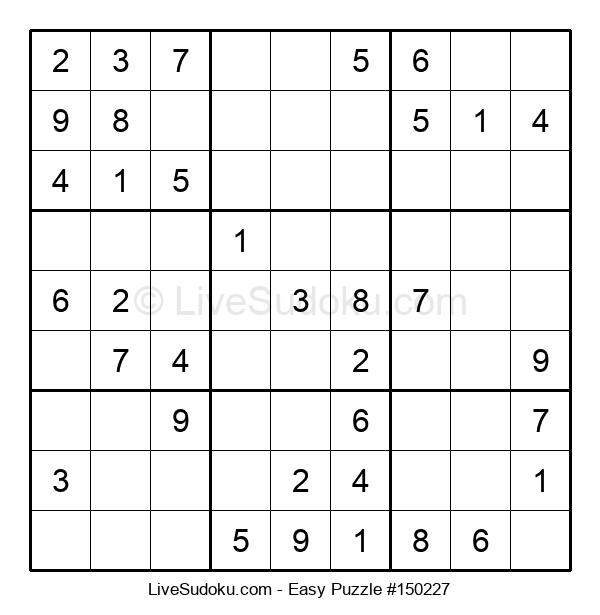 Beginners Puzzle #150227