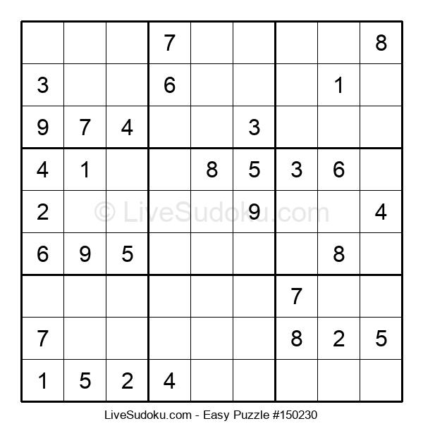 Beginners Puzzle #150230