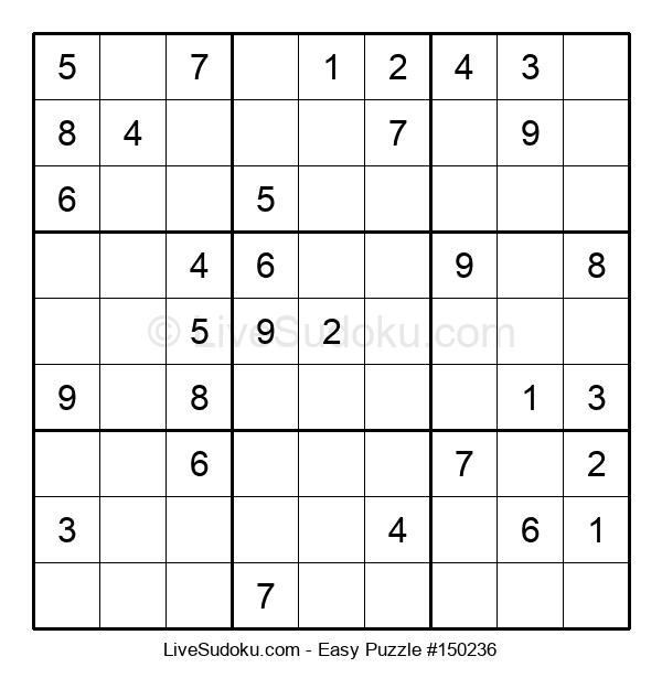 Beginners Puzzle #150236