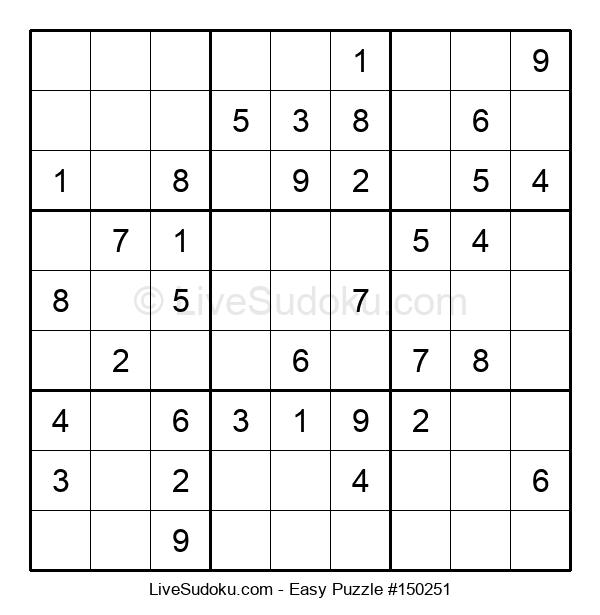 Beginners Puzzle #150251