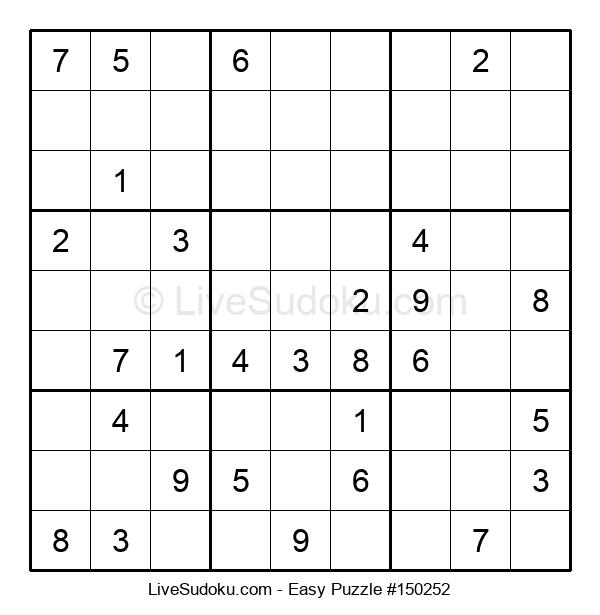Beginners Puzzle #150252
