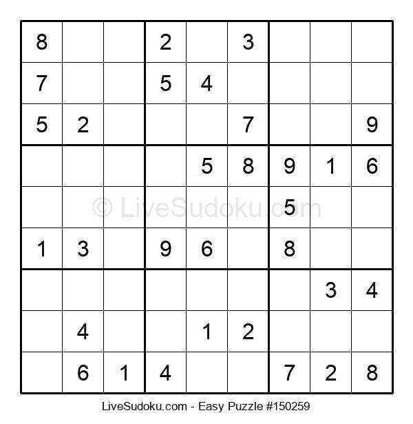 Beginners Puzzle #150259