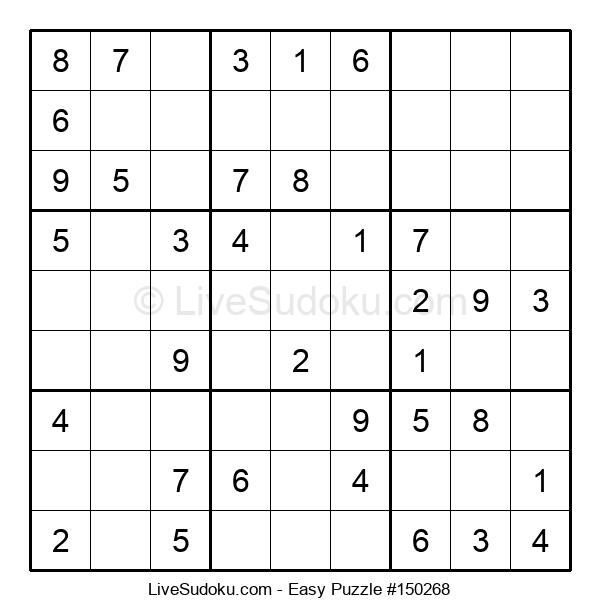 Beginners Puzzle #150268