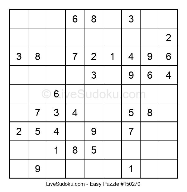Beginners Puzzle #150270