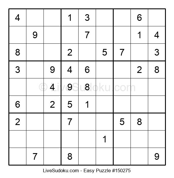 Beginners Puzzle #150275